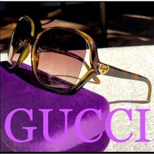 💯 GUCCI 60mm sunglasses